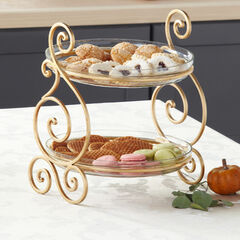 2-Tier Server with Bowls,