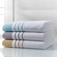 BH STUDIO® Border Oversized Cotton Bath Sheet,
