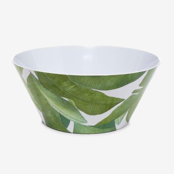 Banana Leaf Serving Bowl, GREEN