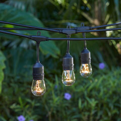 Edison-Style Industrial String Lights,