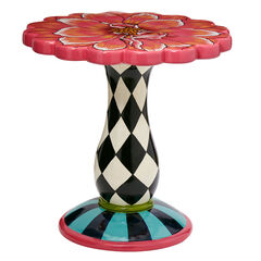 Flower Side Table,
