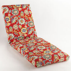"84"" Chaise Cushion, DAELYN CHERRY"