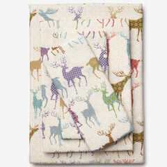 Microflannel Sheet Set, COLORFUL DEER