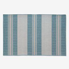"Carmel Indoor/Outdoor Bold Stripe Rug 4'10"" x 7'6"","