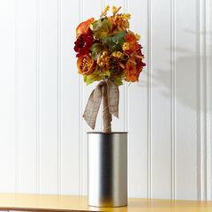 Autumn Garden Flower Tree,