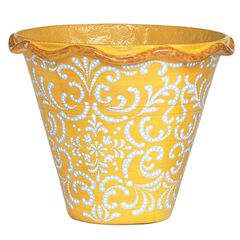 Mazie Hand Painted Planter,