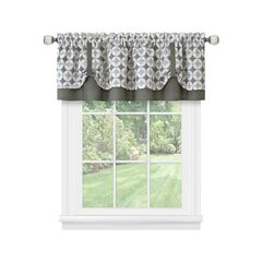 Callie Double Layer Pick Up Valance - 58x14,