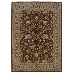 Trio Brown 5'X7' Area Rug,