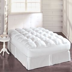 Deluxe Box Stitched Mattress Topper,