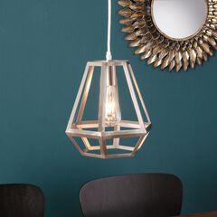 Draco Caged Lantern Pendant Lamp,