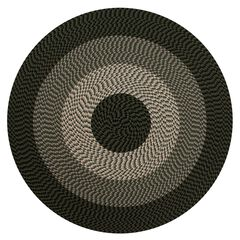 "Alpine Braid Collection Reversible Indoor Area Rug, 72"""" Round ,"