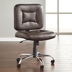 Big and Tall Armless Office Chair,