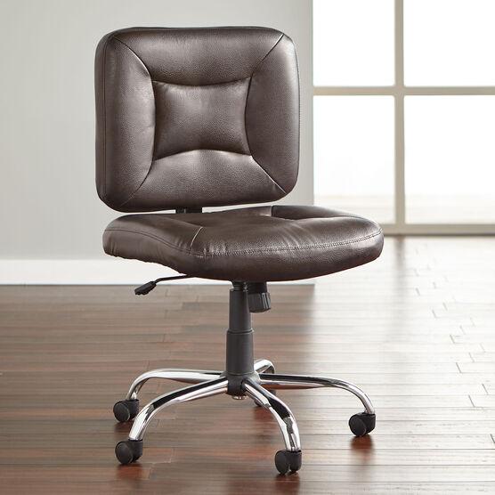 Big And Tall Armless Office Chair, Armless Office Chair