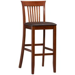 Triena Collection Craftsman Bar Stool, 30'H,