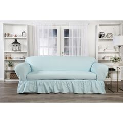 Ruffled 2-Pc. Slipcover by Classic Slip Covers, Inc.,