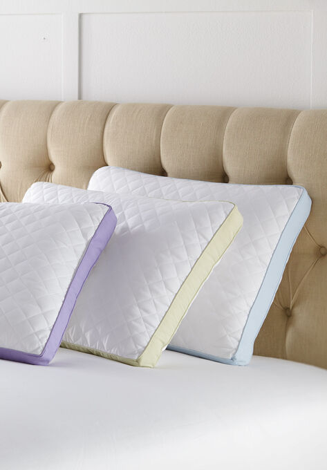Stomach Sleeper Gusseted Density 2-Pack Pillows,