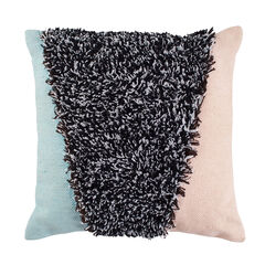 Triangle Shag Decorative Pillow,