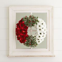 Poppy & Holly Wreath,