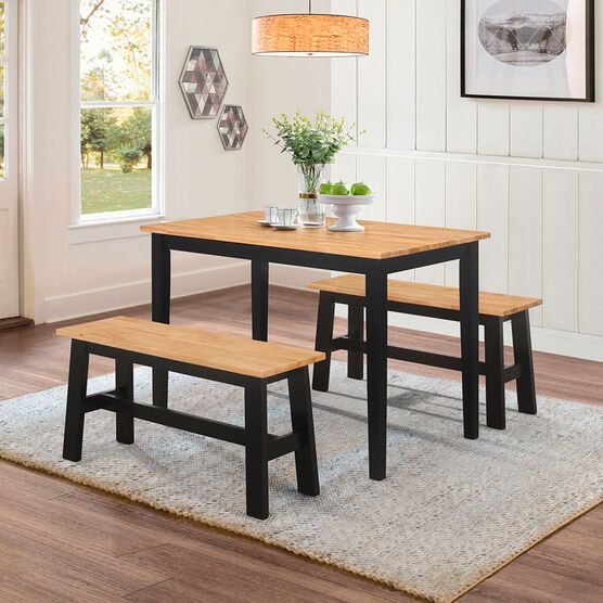 New York Table 2 Benches Brylane Home