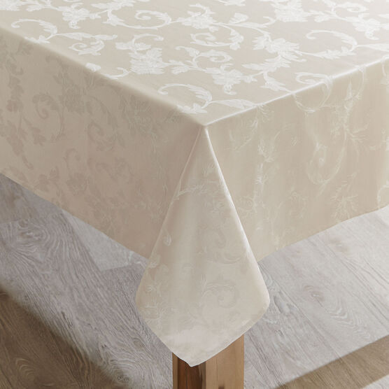 60' x 104' Grand Luxe Tablecloth , BIRCH