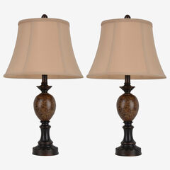Classic Pair of Table Lamps,