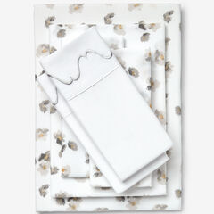 Nolita 6-Pc. Microfiber Sheet Set, GRAY FLORAL