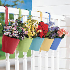 Hanging Planters, Set of 5,