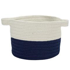 Raindrop Navy Basket,