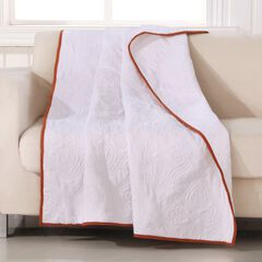 Barefoot Bungalow Cameo Quilted Throw Blanket,