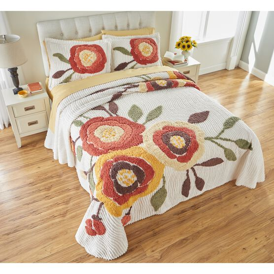 Bloom Chenille Bedspread,