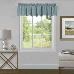 "Wallace Window Curtain Valance 52"" x 14"","