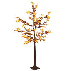 6' Pre-Lit Harvest Tree ,