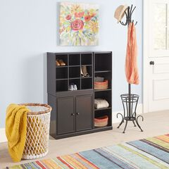 Scanto Narrow 2-Door Storage Cabinet,