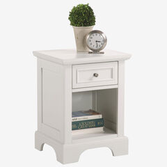 Naples White Night Stand,