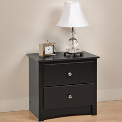 Sonoma 2 Drawer Night Stand ,