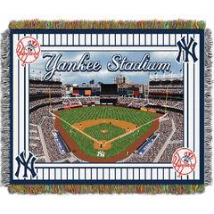 Yankees Stadium Throw,