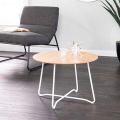 Holly & Martin Kacheri Round Scandinavian Style End Table,