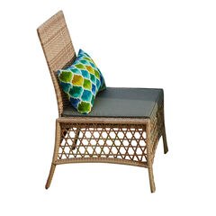 Santa Rosa Resin Wicker Dining Chair,