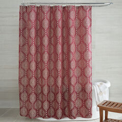 Cyrus Jacquard Shower Curtain,