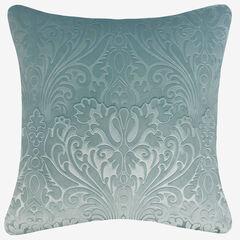 Embossed Panne Velvet Decorative Pillow,