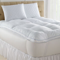 "4""  Memory Loft Deluxe Gel Mattress Topper,"