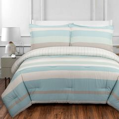 Coastal Stripe Duvet Cover Set,