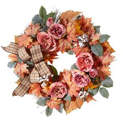 Blush Harvest Wreath,