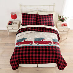 BH Studio 3-Pc. Christmas Quilt Set,