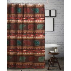 Canyon Creek Shower Curtain by Greenland Home Fashions,