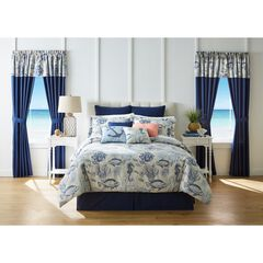 20-Pc. Printed Comforter Set, COASTAL