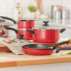 Red 8-Pc. Cookware Set,
