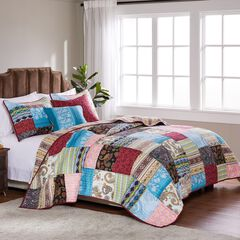Bohemian Dream Bonus Quilt Set by Greenland Home Fashions,