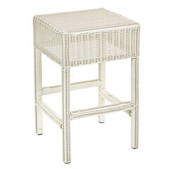 "Roma 24"" Counter Stool, WHITE"
