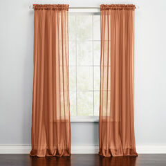 BH Studio Sheer Voile Rod-Pocket Panel Pair,